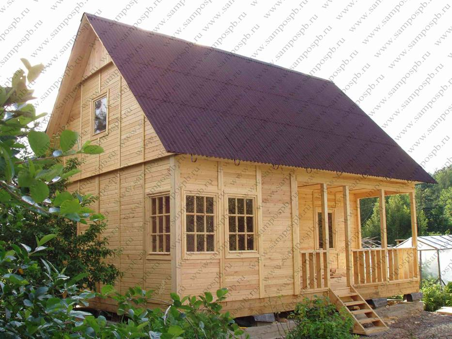 Построить дом своими руками недорого фото и цены