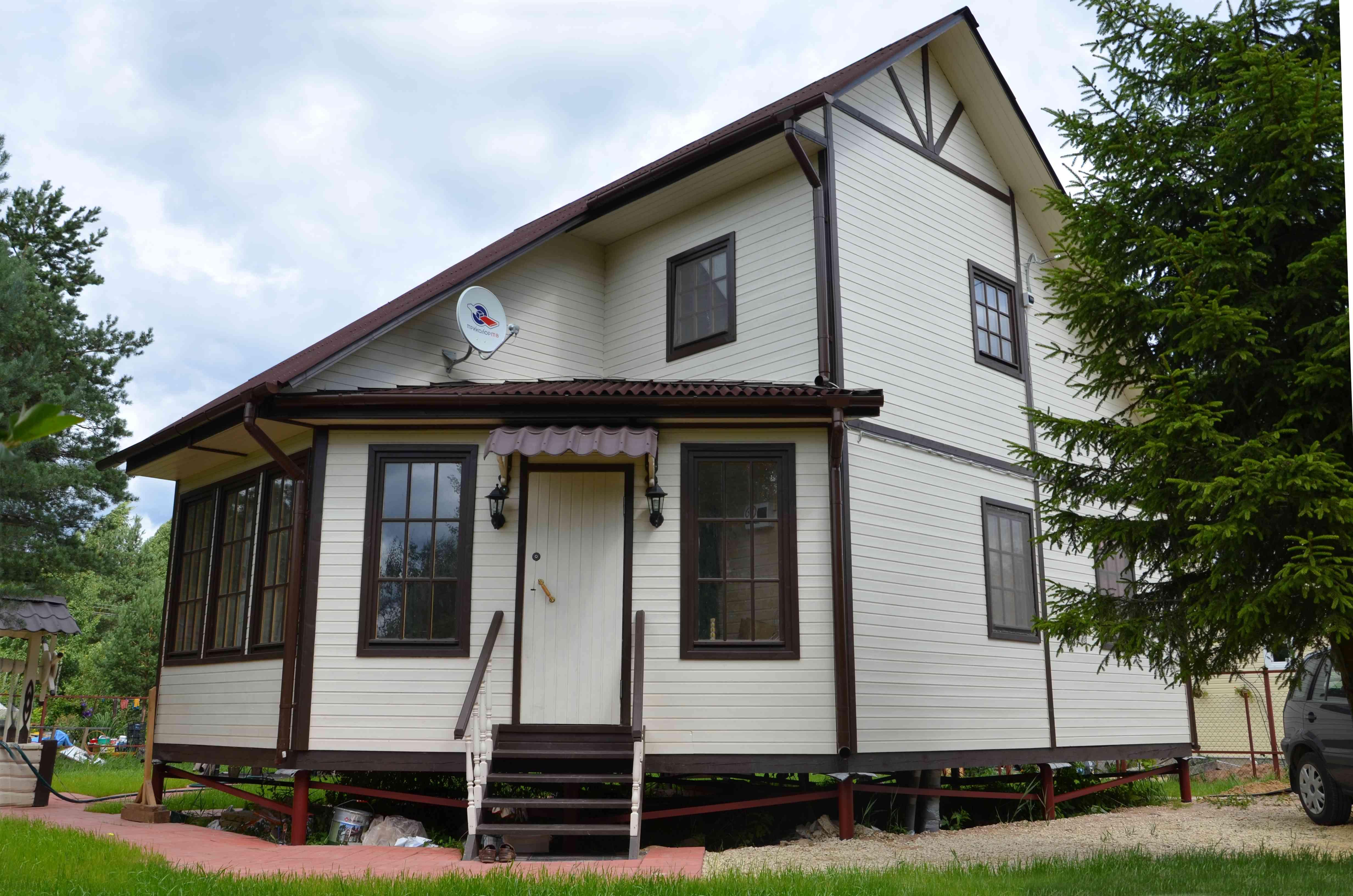 каркасно щитовые дома фото и цены